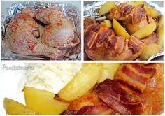 Frango Assado com Batatas Camembert Cheese, Mashed Potatoes, Lunch, Ethnic Recipes, Portuguese, Carne, Brazil, Blog, Foods
