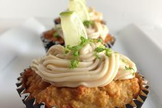 Key Lime Muffin-cakes