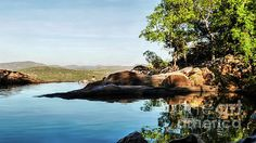 Gumlon Infinity Pool. Kakadu National Park is a TIMELESS WILDERNESS.  Wetlands, Waterfalls, Rock Scapes, Rocks Pools,  Ancient Rock Art, Crocodiles and Birds...a TIMELESS LAND. UNESCO World Heritage Listed for both natural and cultural significance to humanity.  Visit my photo gallery and get a beautiful Fine Art Print, Canvas Print, Metal or Acrylic Print. 30 days money back guarantee on every purchase so don't hesitate to bring some 'TIMELESS WILDERNESS' in your home or office! #landscape