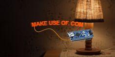 Make a POV LED Air Writer for Under $5 #DIY #tech