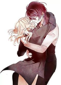 anime love   diabolik lovers   reiji   yui            Does anyone actually ship this?