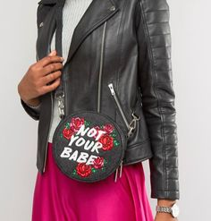 ASOS bag, $42.09 | http://www.hercampus.com/style/9-unique-accessories-girl-whos-not-afraid-stand-out