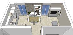 Progetto Living con cucina e tanti desideri – Mayday Casa Blog e Progetti Floor Plans, Blog, Design, Decor, Parma, Kitchen, House, Tutorials, Decoration