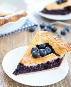 Cook's Illustrated's Best Blueberry Pie | Kirbie's Cravings | A San Diego food blog