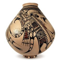 "Native American Art | Mata Ortiz ""Paquime Pottery"" 