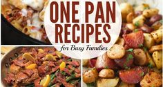 A Lazy Mom's One-Pan Dinners
