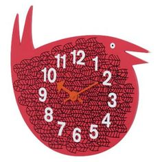 George Nelson sparrow clock