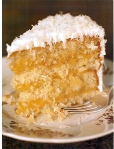 Foster's Market Coconut Cake with Lemon Curd