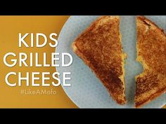 How to Make a Kids Grilled Cheese | #LikeAMofo | SHUGGILIPPO - YouTube