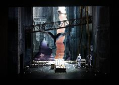 Angels in America (Millennium Approaches) Yale Scenic Design