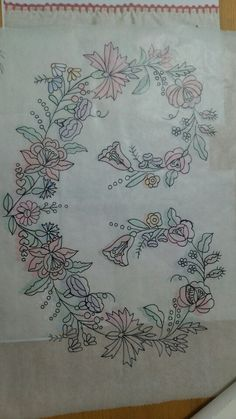 the design of the Kalocsa embroidery,pillowcase, made by my grandmother. will somebody make this embroidery? i wish i could see pictures of it! !