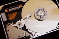 hard drive open