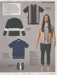 Time Out Magazine: John Smedley jacket