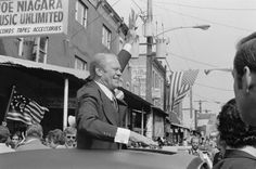 President Gerald Ford Campaigning in Phillidelphia -1976
