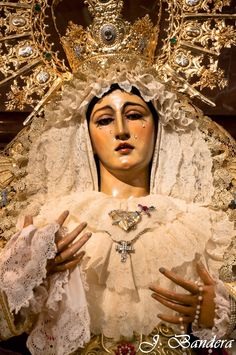 Las Fotografías de Bandera: La Virgen de la Amargura de Huelva