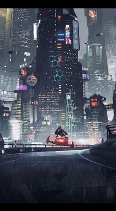 Science fiction architecture cyberpunk city 17 Ideas for 2019 Arte Cyberpunk, Cyberpunk City, Ville Cyberpunk, Cyberpunk Aesthetic, Futuristic City, Futuristic Technology, Futuristic Architecture, Technology Design, Technology Gadgets