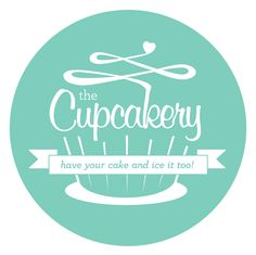 Logo: I know I said I didn't like green but I'm ok with mint. I like the swirl frosting with a heart on top