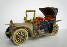 PAPERMAU: 1911`s Panhard Levassor - A Vintage Paper Model - by Agence Eureka