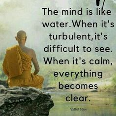 Patiently wait till it gets calm Wise Quotes, Quotable Quotes, Great Quotes, Quotes To Live By, Strong Quotes, Change Quotes, Attitude Quotes, Qoutes, Buddha Quotes Inspirational