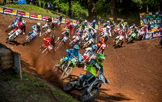 The FMF 125 Dream Race Invitational Triple Crown will feature 125cc two-strokes racing at three rounds of the 2017 Lucas Oil Pro Motocross Championship.