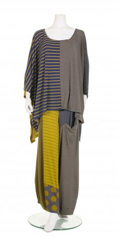 Alembika Multicolour Mix Stripe Top, £125.00, stretch viscose | idaretobe