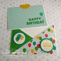 Carolina Evans - Stampin' Up! Demonstrator, Melbourne Australia: Birthday Criss Cross Cards