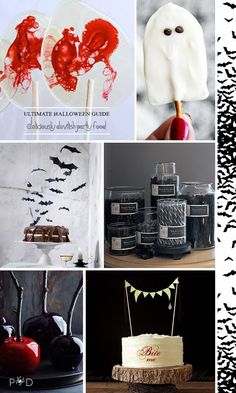 Halloween Party Food & Drink ideas for adults and children