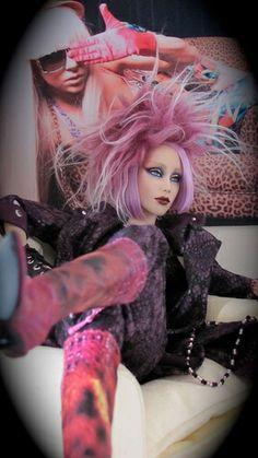 'Rocker Chick', OOAK Fashion Doll.
