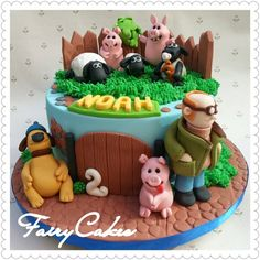 Fairy Cakes - Shaun the Sheep (Barnyard Inspired)