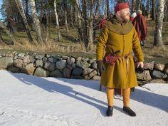 14th century overcoat for Riku.