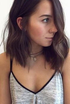 Stylish Brunette Bob Haircuts picture2