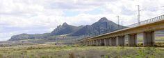 LAV Levante. El viaducto Cordel del Sax, de 1.498 metros, es el más largo del tramo Albacete-Alicante (Autor: Javier Abad)