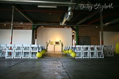 Ceremony in Gallery 1 - Bentley Projects Wedding