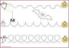Schede pregrafismo percorsi: linee curve | genitorialmente