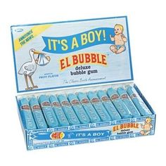 It's a Boy Bubble Gum Cigars --- great for a #babyshower