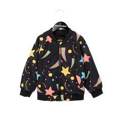 Mini Rodini - space baseball jacket