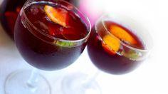 Sangria met gegrilde appelsien