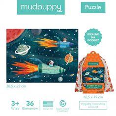 Mudpuppy - Puzzle w Woreczku Kosmos Baby Toys, Puzzle, Movie Posters, Movies, 2016 Movies, Puzzles, Film Poster, Films, Riddles
