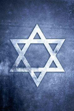 The Star Of David, or Shield of David, is the symbol of the Jewish faith. The six pointed figure consists of two interlaced equilateral triangles. It appears on synagogues, tombstones and the flag of Israel. It is also seen in the Siddur. Cultura Judaica, Jesus Christus, The Book Thief, Jerusalem Israel, Jewish Art, Jewish History, Star Of David, Holy Land, Christen