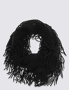 Buy the Simple Snood Scarf from Marks and Spencer's range. Snood Scarf, New Fashion, Womens Fashion, Clothes For Women, Stylish, Simple, Outerwear Women, Women's Fashion, Woman Fashion