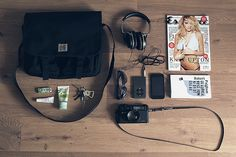 what's in my bag? by The Cvrk, via Flickr