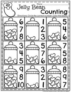 Looking for AWESOME Easter Worksheets and Activities for preschool? You will LOVE these Easter themed centers and no-prep printables. Work on the alphabet, counting, tracing, patterns and more in this awesome set of Easter fun. Easter Activities For Preschool, Numbers Preschool, Preschool Lessons, Math For Kids, Preschool Learning, Preschool Activities, Easter Songs For Preschoolers, Vocabulary Activities, Easter Worksheets