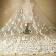 sold per meter tulle for veil width 3m skirt dress Soft 44 CornflowerBlue Color of high quality
