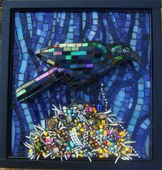 """Obsession"" by Susan Turlington Mosaics, via Flickr"