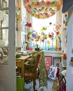 Carve out a creative corner with colour and inspiration – make it your own