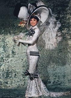 My fair lady - Audrey Hepburn