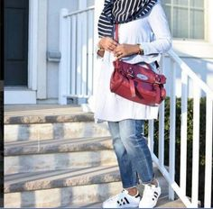 adidas style with hijab outfit- Chic hijab outfits from instagram http://www.justtrendygirls.com/chic-hijab-outfits-from-instagram/