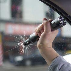 "iMarsâ""¢ iM-C3 Multi-function Car Charger Cutting Knife Flashlight Portable Charger Emergency Hammer"