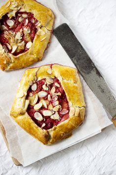 Strawberry Banana Galettes #recipe