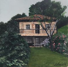 Madrid, Cabin, House Styles, Home Decor, Castles, Decoration Home, Room Decor, Cabins, Cottage